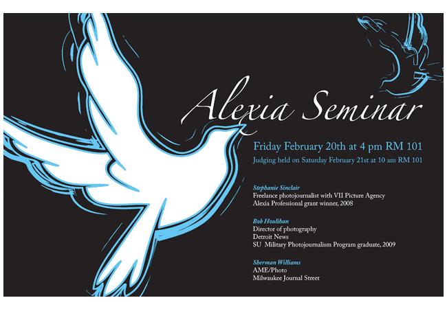 Adria Saracino portfolio: poster design