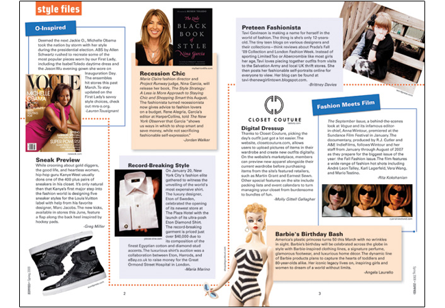 Brilliant Fashion Magazine Layout Design 650 x 450 · 373 kB · png